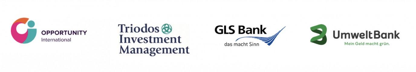 Logos OBS, Triodos, GLS, UmweltBank