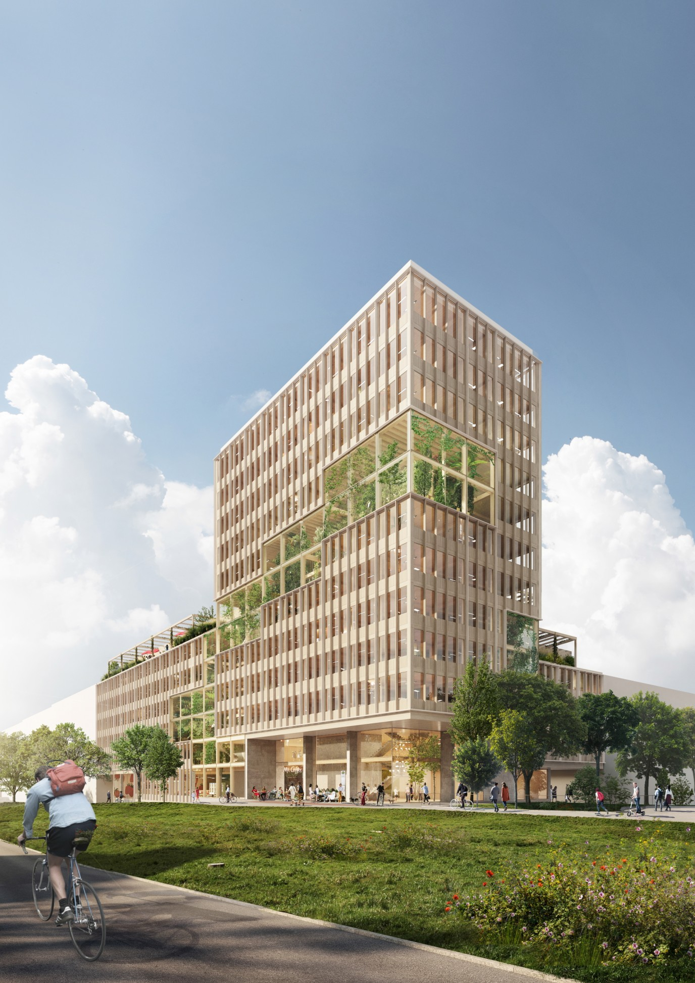 2. Platz Architektur-Wettbewerb UmweltBank